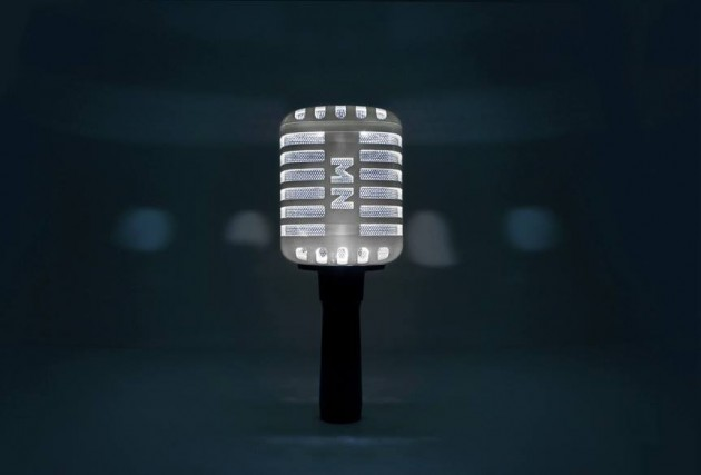 #MYNAME 因為MYNAME是R&B組合,使用復古麥克風造型真美(但感覺會很不亮欸)