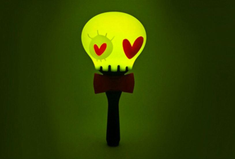 #B1A4 遠看很像一顆顆小燈泡XD 萌芽綠色是他們的應援色