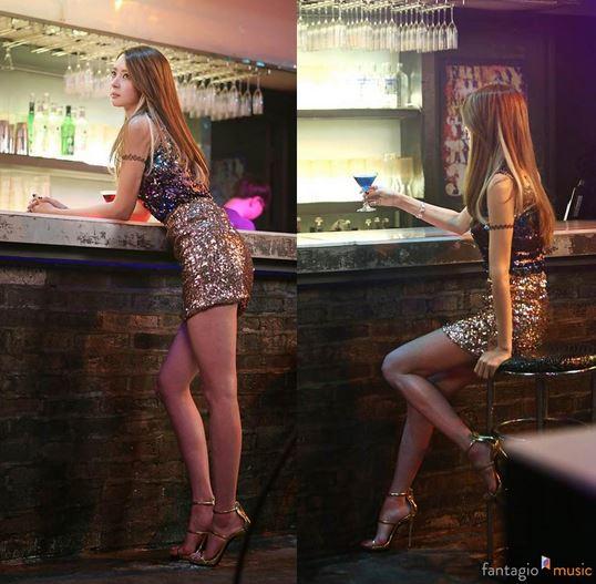 這樣的女生出現在酒吧,恐怕男生都要搶得頭破血流了吧!