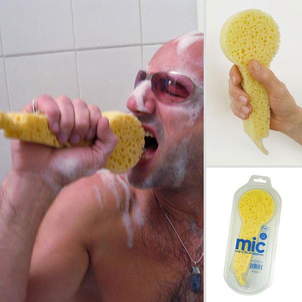 熱愛邊洗澡邊唱歌的朋友們~有福啦! 洗刷刷洗刷刷…… BTW手一用力,還可以邊唱歌邊吃沐浴露
