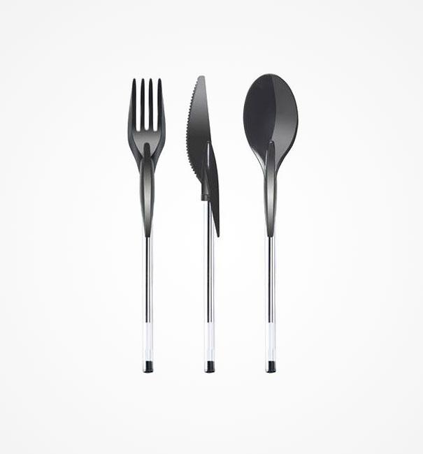 你是想問這到底是圓珠筆還是餐具?