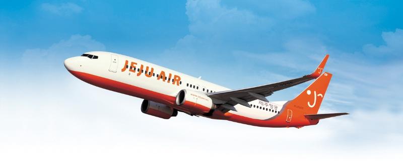 3.濟州航空 韓國濟州島的航空公司,主要服務濟州島到韓國之間的國內服務以及濟州島的國際航線服務。
