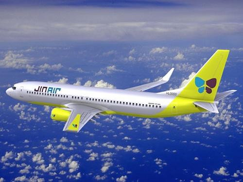 5.真航空 韓國一家廉價航空,隸屬大韓航空旗下。真航空最大的特色是不劃位飛行,即飛機座位先到先得。