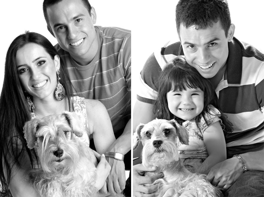 狗狗是Rafael del Col和妻子剛剛開始戀愛時養的,見證了他們的愛情 :)