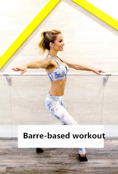 利用練習芭蕾舞用的扶手進行的一種運動,芭蕾舞的運動和姿勢,結合瑜伽和皮拉提斯。