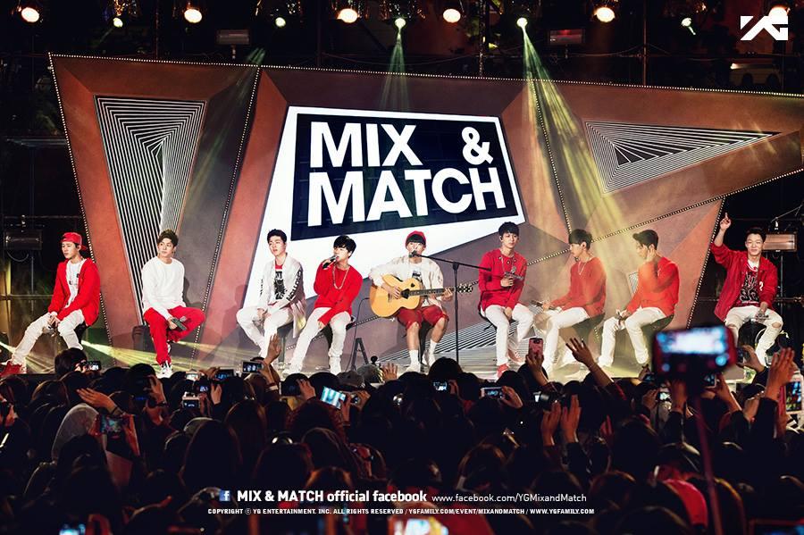 而去年底,他們再度以生存賽的方式,在電視節目《Mix & Match》中,由9人競爭選出最後的7人成為固定成員~iKON正式成形~
