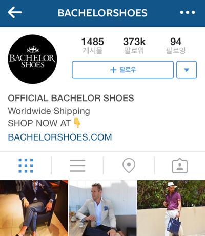 @bachelorshoes 正如帳號「bachelor shoes 」,主要以介紹鞋子為主。