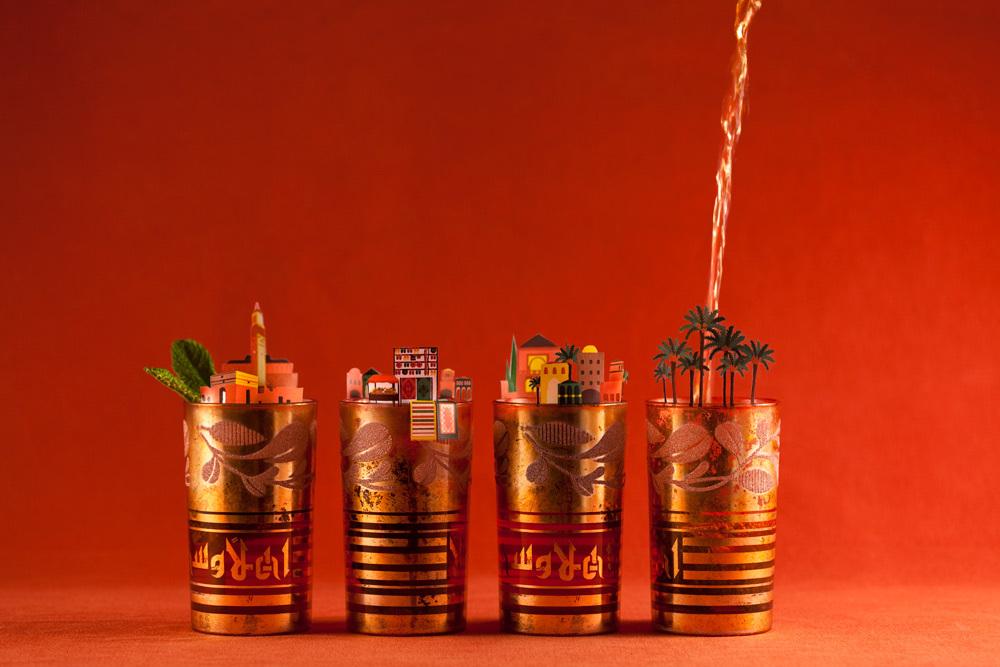 #. 馬拉喀什 x 薄荷茶 去到摩洛哥馬拉喀什的話,一定不要錯過夜市上的薄荷茶哦!