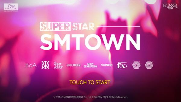 其實讓燦烈如此著迷的,正是自家公司SM娛樂與遊戲公司共同開發出的一個節奏遊戲「Super Star SM TOWN」