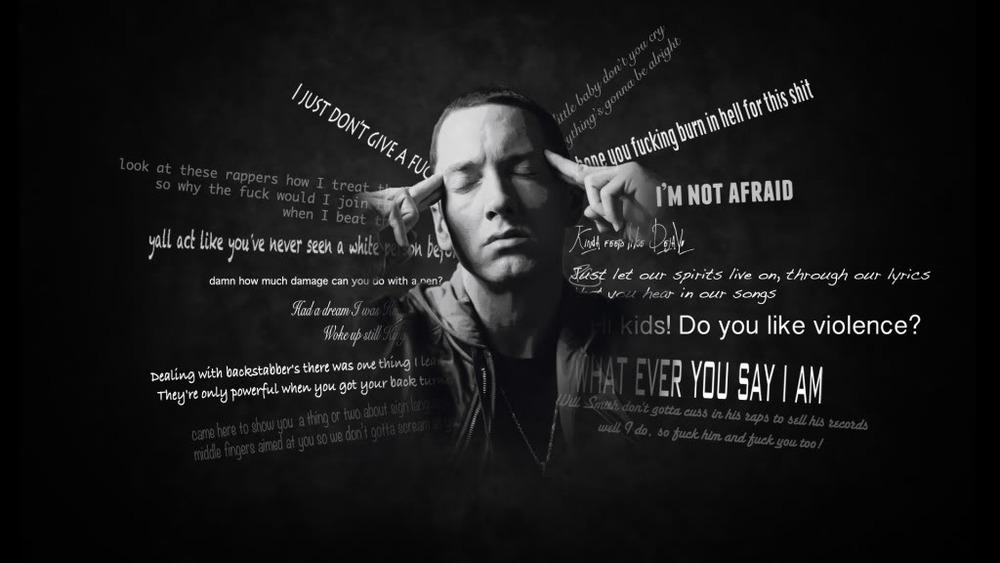 阿姆的歌詞裡有很多罵人的詞彙,相信大家都知道,大概整理一下的話有 bixxx, faggxx, xxck, shxx等等(不解釋,大家都懂)