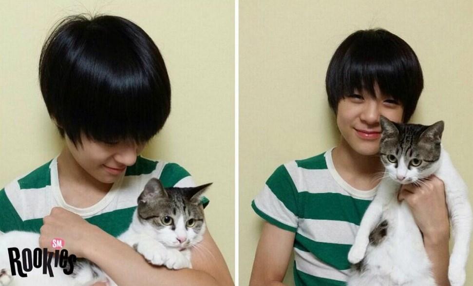 笑起來有咪咪眼的Jeno,跟貓咪一樣可愛!!!