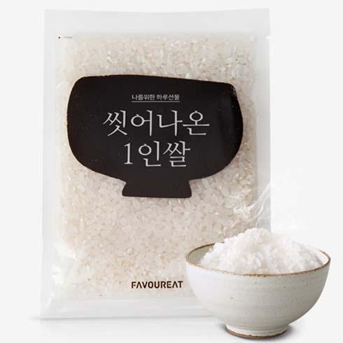 1. 一人份小包裝大米(120g) 只需放入水喝米,煮熟即可...(很方便的呢)