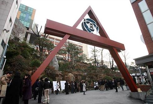 1位) DAEWON外國語高中 : 257名, 在首爾廣津區