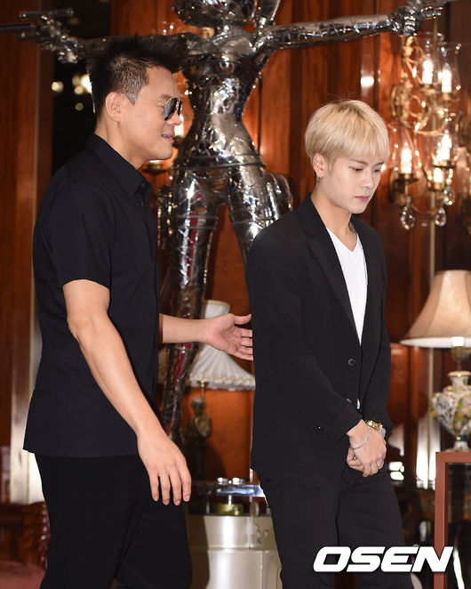 JYP就說啦,出道3年過後,還可以邀偶像藝人帶另一半見面吃飯,真的沒看過這麼開放的娛樂公司了(尤其是打造偶像團體~最怕緋聞了不是嗎?)
