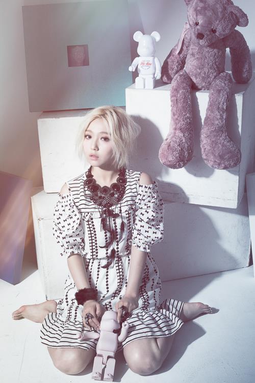 第五位就是 miss A 的 Min。