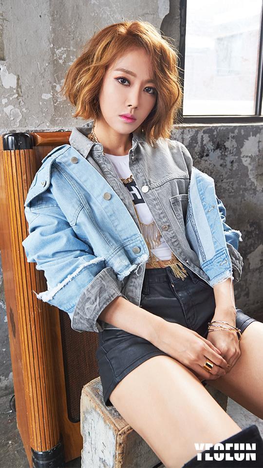 第十個要介紹的是 MelodyDay 的 Yeo-eun。