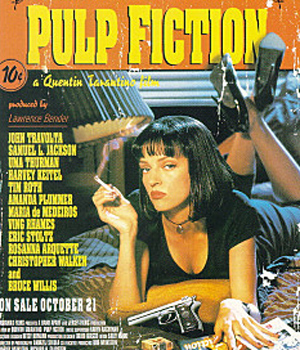 #4 <黑色追緝令>(1994) : Zed(彼得·格林納) 一部經典的黑色幽默犯罪片,在眾多大牌中,變態Zed短暫的演出卻讓電影更豐富起來了