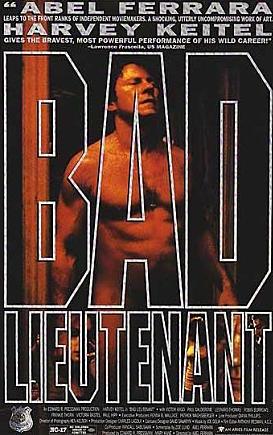 #7 <壞中尉>(1992) : 漢森(哈威·凱特爾) 正如電影名,漢森是個無賴的警察.他很喜歡吸毒,泡妞.他吸毒之後自己所作的事情,連殺死人他事後都不記得……