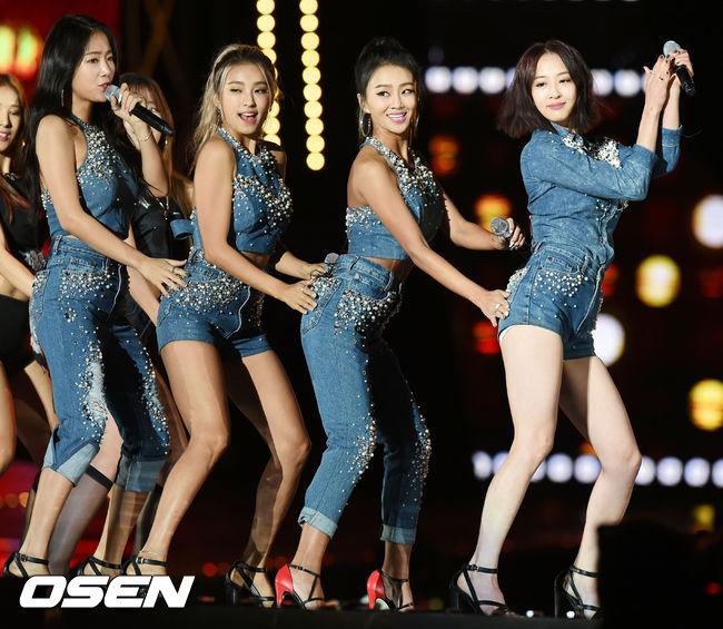 2015年韓國歌謠界白熱化,從夏天開始的女團大戰,有音源強者Sistar...