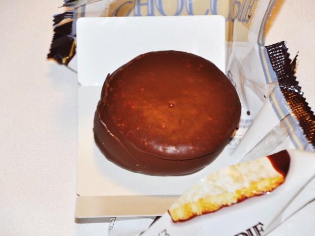 不忘初心的巧克力派元祖外型