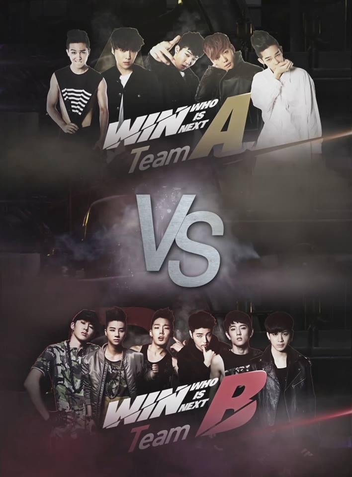 說到「WINNER」和「iKON」之間的競爭,就要提到《WIN : Who Is Next》這個節目,節目最終的勝利者是 team A,就是現在的「WINNER」喔!