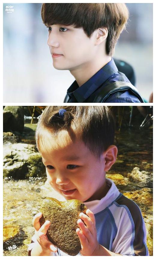不管正面側臉都是粉絲們都認證 相似度百分百的泰吳和Kai 終於要在節目 「oh my baby」上見面了