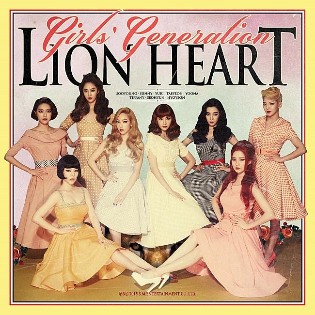 TOP 18: 少女時代《Lion Heart》 第五張正規專輯《Lion Heart》(2015/08)