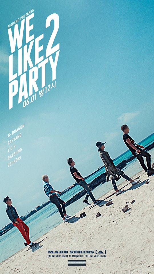 TOP 5: BIGBANG《We Like 2 Party》 第五張單曲 MADE SERIES 《A》(2015/06)