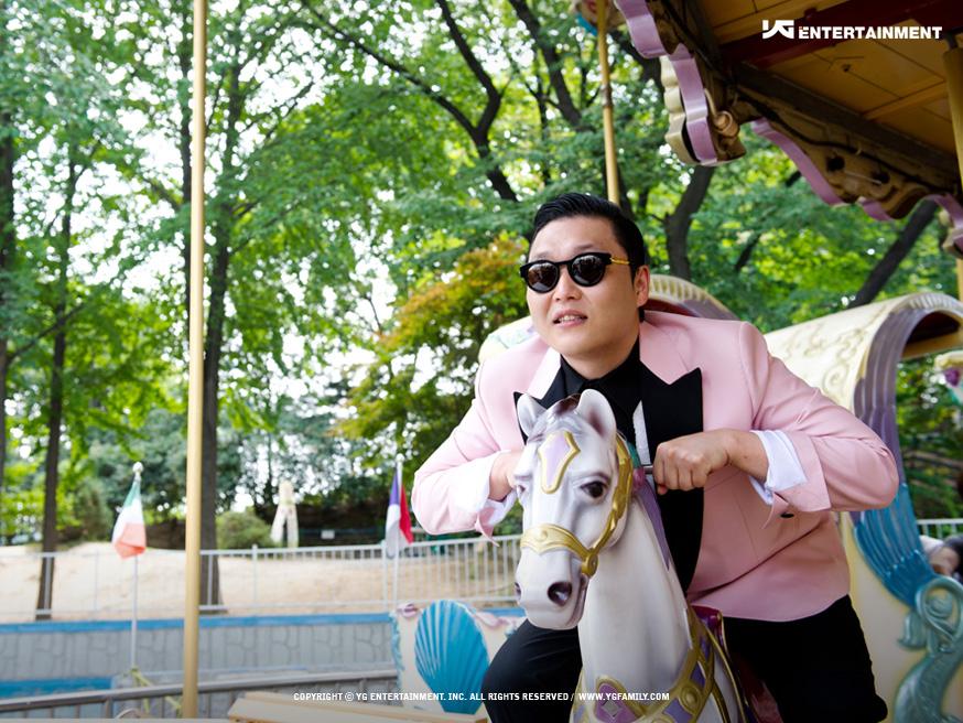 TOP 4: PSY《江南Style》 第六張專輯《PSY 6甲, Part 1》(2012/07)