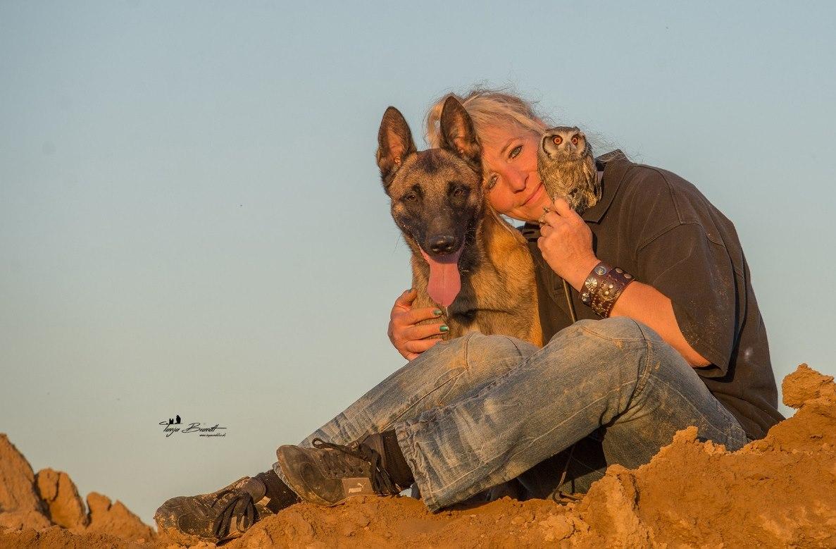 Tanja Brandt從小就是一個非常喜愛動物的人,她對動物的喜愛甚至超過了對人的喜愛~