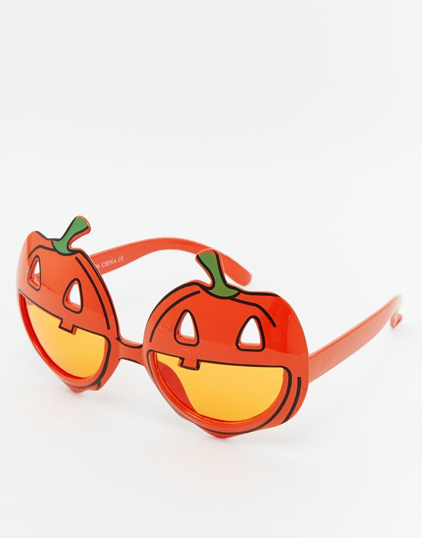 適合萬聖節氣息的南瓜墨鏡!!! 好奇戴起來是什麼感覺嗎?