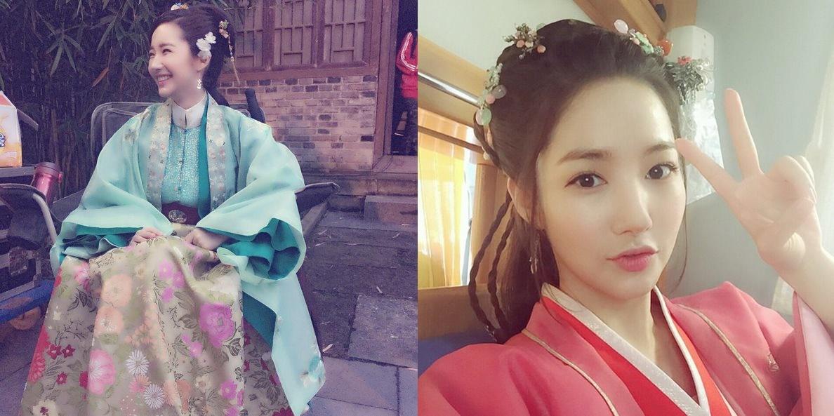 朴敏英也似乎很滿意中國古裝,在instagram分享超多張穿中國古裝的照片,真的很漂亮膩(ノ∀`*)