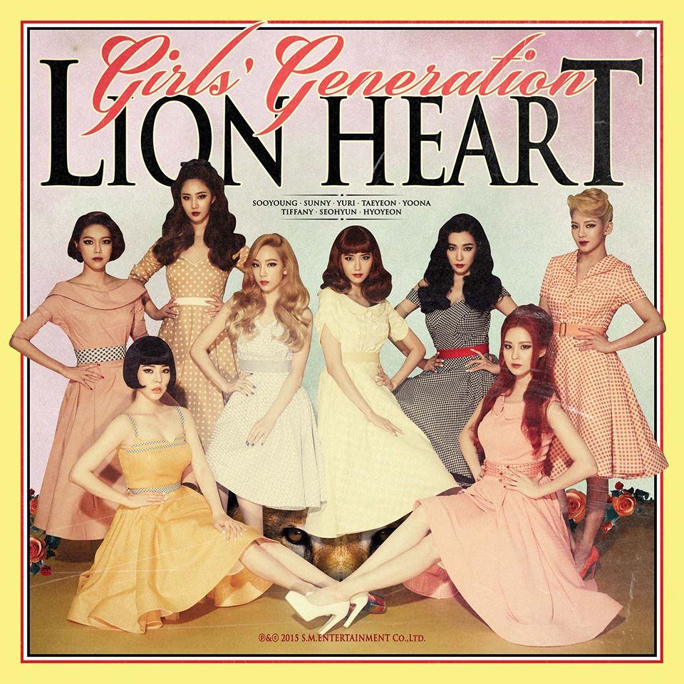 當然凡事還是有例外的啦!比如說「少女時代」最新發行的專輯《Lion Heart》封面就是成員美美的照片。