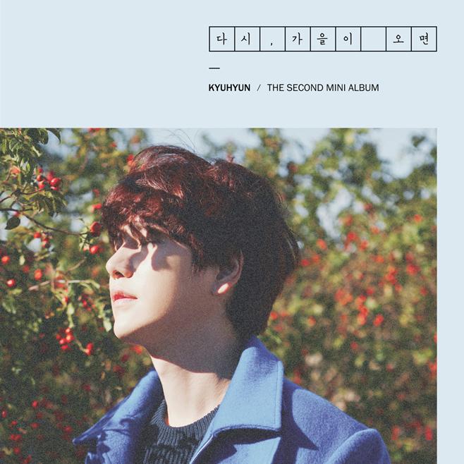 最後一位要介紹的 SOLO 歌手就是 SUPER JUNIOR「圭賢」,不覺得光看封面照就很有秋天的感覺嗎?