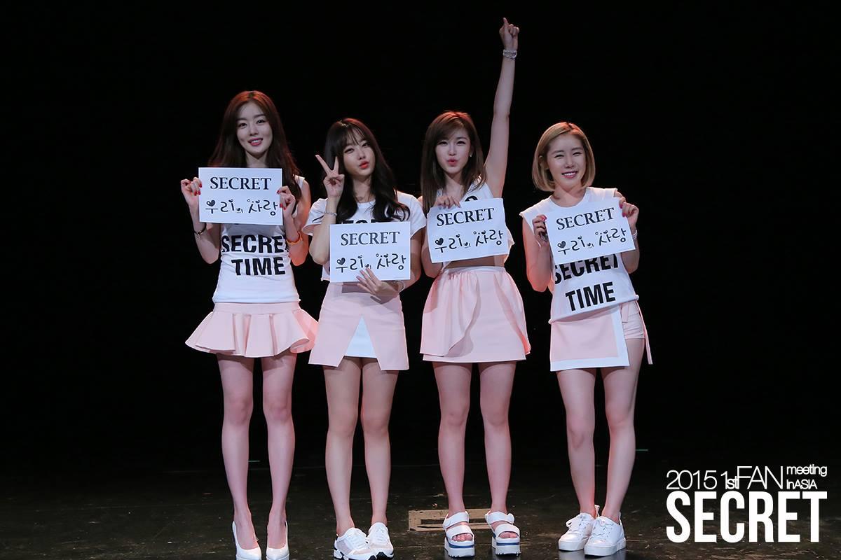 ★ Secret :: 477 天 ★  2009 年出道的他們,經過了 477 天的努力,終於在 M! Countdown 以《Shy Boy》成為一位歌手。