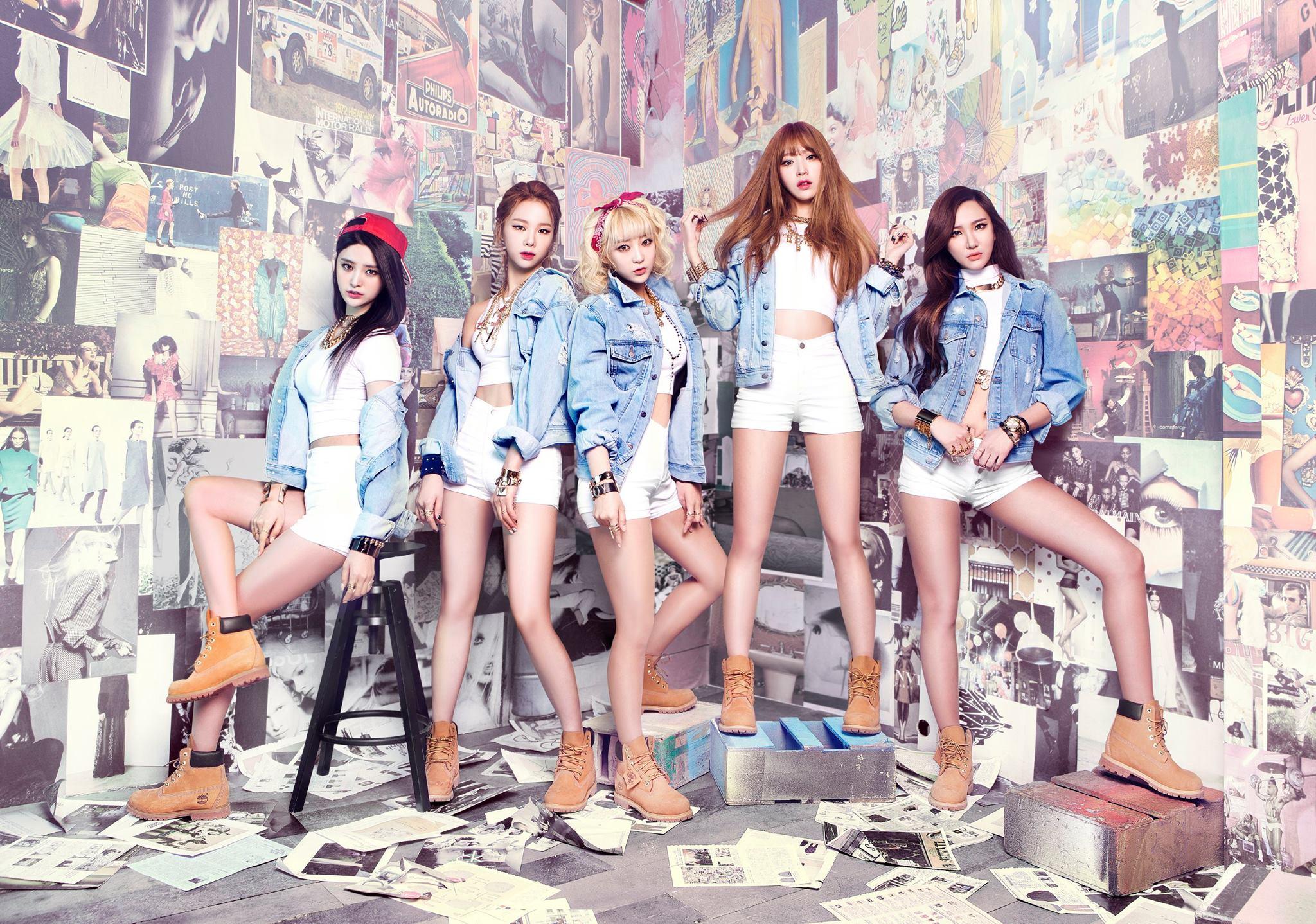 ★ EXID :: 1058 天 ★  「we 阿哩~we 阿哩~」大家以為 EXID 是剛出道的女團嗎?不不不!她們其實是 2012年就出道的女團,一直到去年才以《Up & Down》受到大家的關注。
