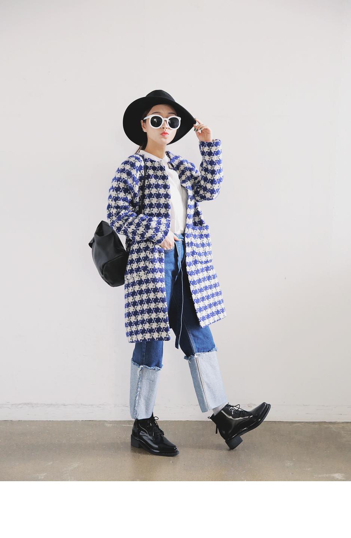 誰說千鳥紋外套都很正式?想要做出俏皮的千鳥紋造型只要選對版型就沒問題!