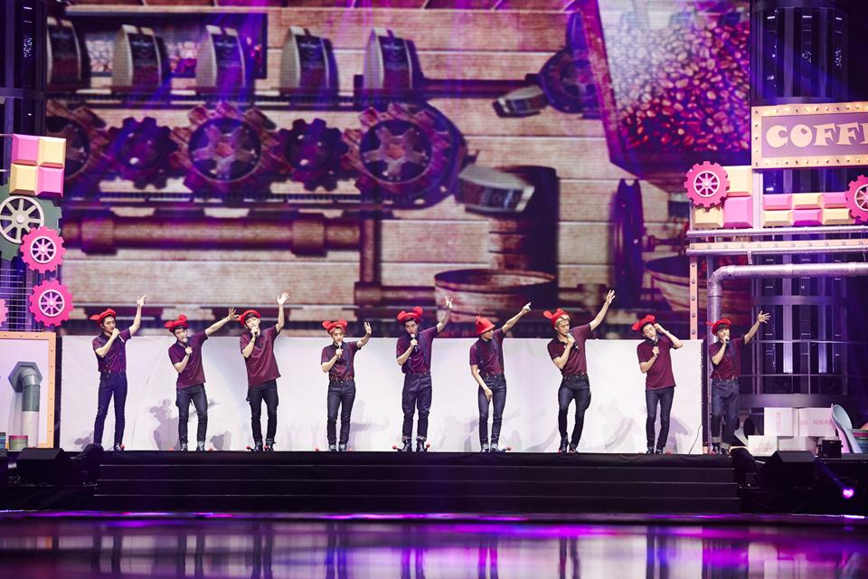 並說明這次的日本巡迴都只有Suho、伯賢、燦烈、D.O.、KAI、世勳、Xiumin跟Chen 8名成員參加~