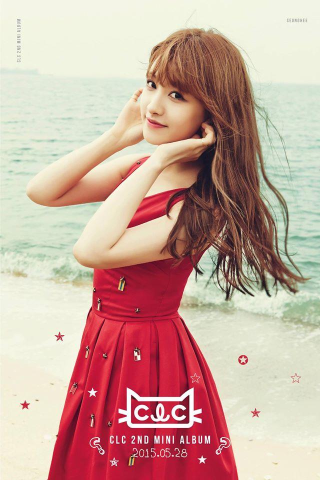 再來下一組~Cube旗下女團CLC隊長兼主唱的承姬