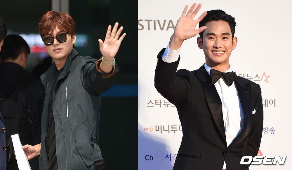 雖然此前演員李敏鎬和金秀賢也有過的待遇,但他們都不是綜藝界人士,所以劉在錫還是第一個!!