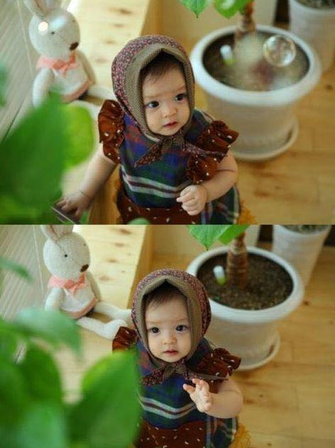 Jaeeun小時候不是嬰兒會不會是個天使.....