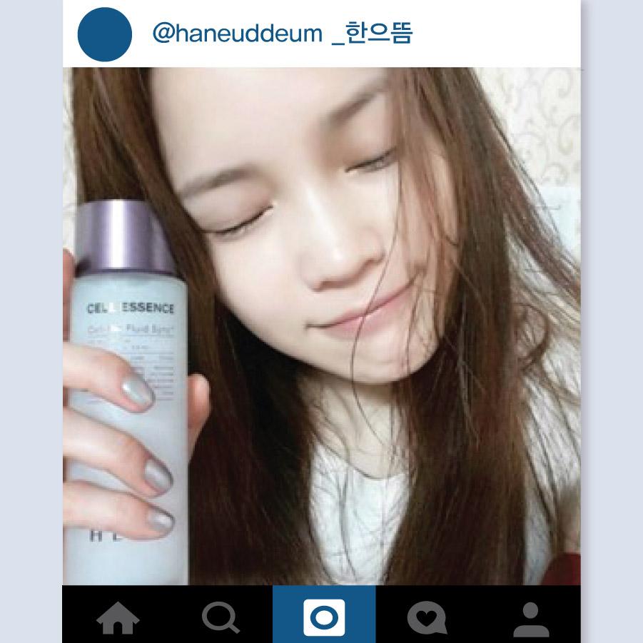 最近韓國模特兒的社群網站人氣也很高. 韓國模特兒Han Eu Ddeum也有很多Follower, 上傳素顏自拍照說剛洗完臉只擦了精華液而已的她,小編看了超級想要親自問她平時到底是怎麼保養皮膚的,皮膚也太好了吧......