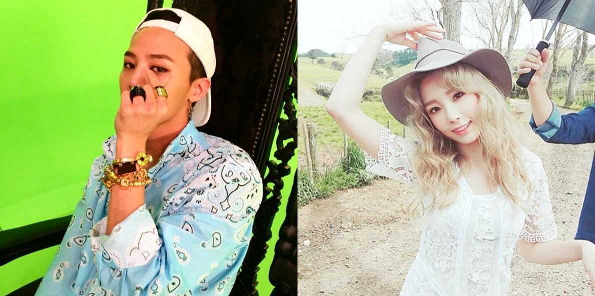 最近在韓國的論壇出現了「GD 和太妍交往中」的消息。