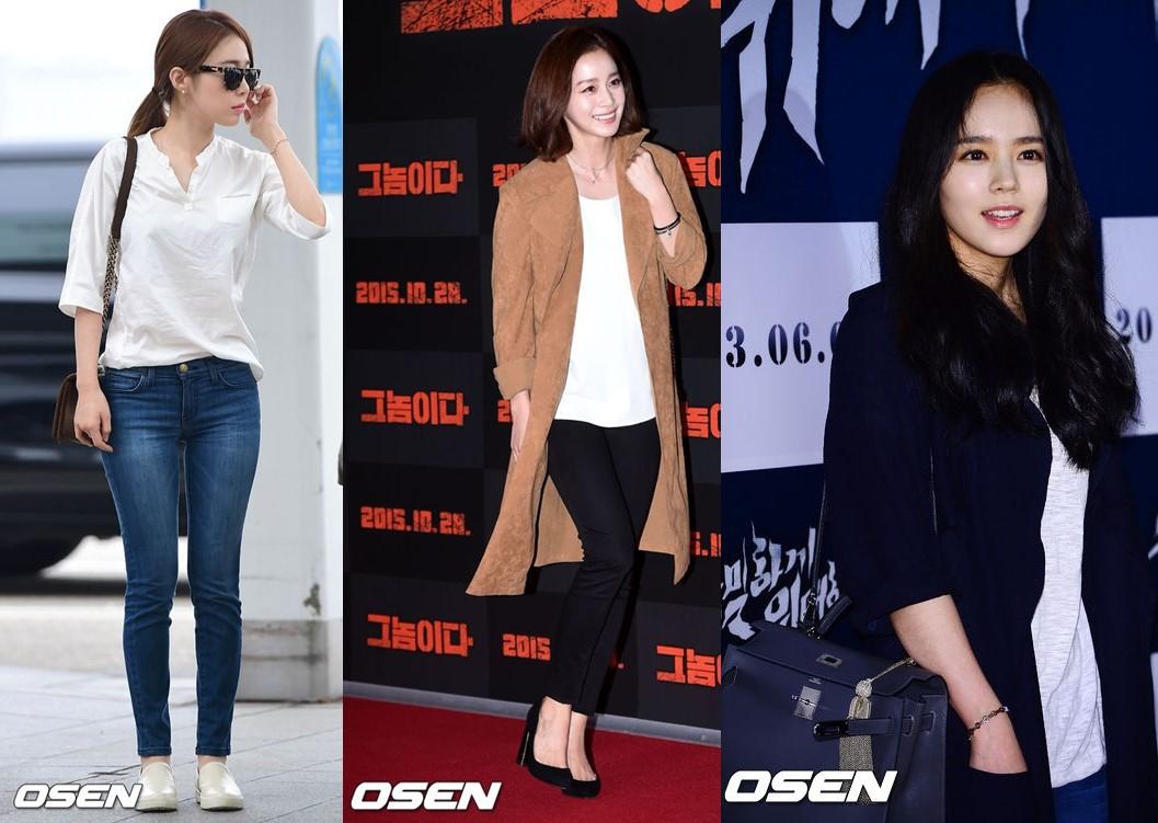 最後一組是劉寅娜、金泰希和韓佳人♥(´∀` )人