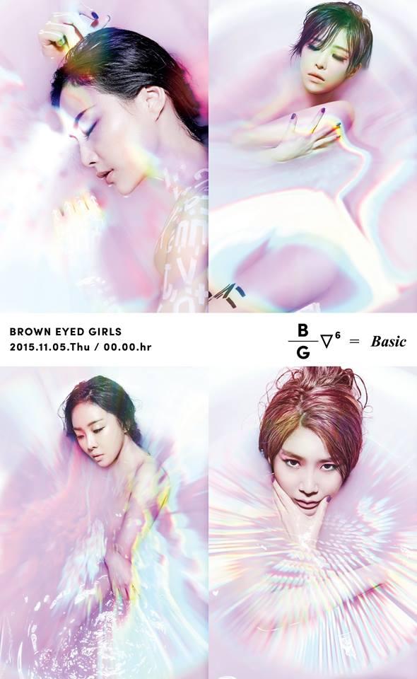 4.Brown Eyed Girls 再來是最近要回歸的Brown Eyed Girls!!