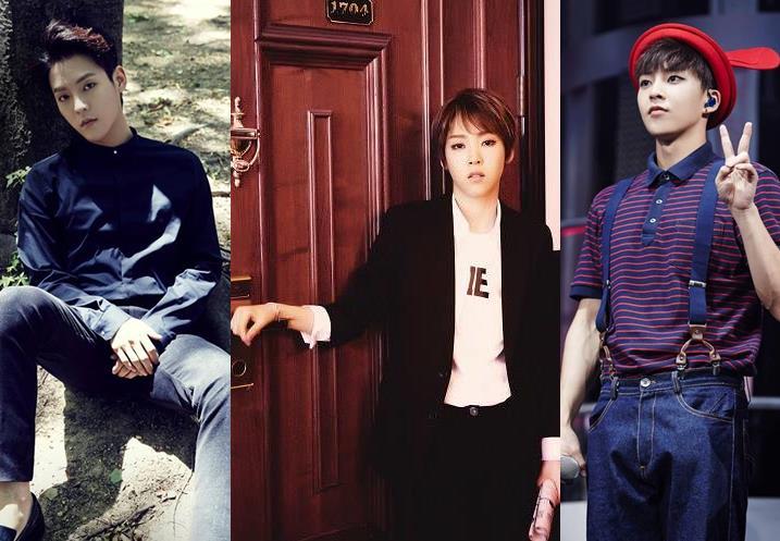 BTOB旼赫和Mamamoo玟星的眼睛很像欸~但也有韓國網友說玟星跟Xiumin很像XD