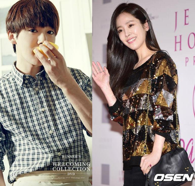 韓國網友說WINNER秦禹的眼睛和韓志旼很像,小編也覺得蠻像的耶~