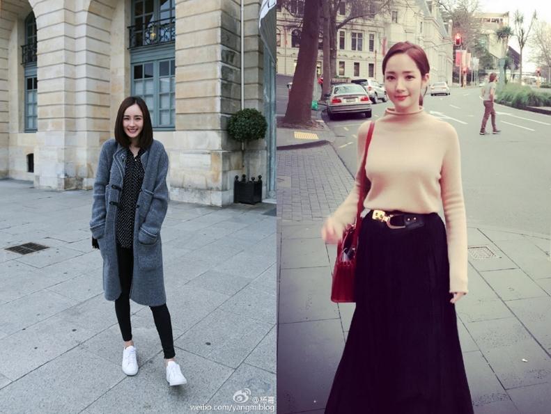 3.楊冪、朴敏英 中國版《花邊教主》 中國版《花邊教主》主要在敘述一群20幾歲的大學生在上海知名大學所發生的故事。