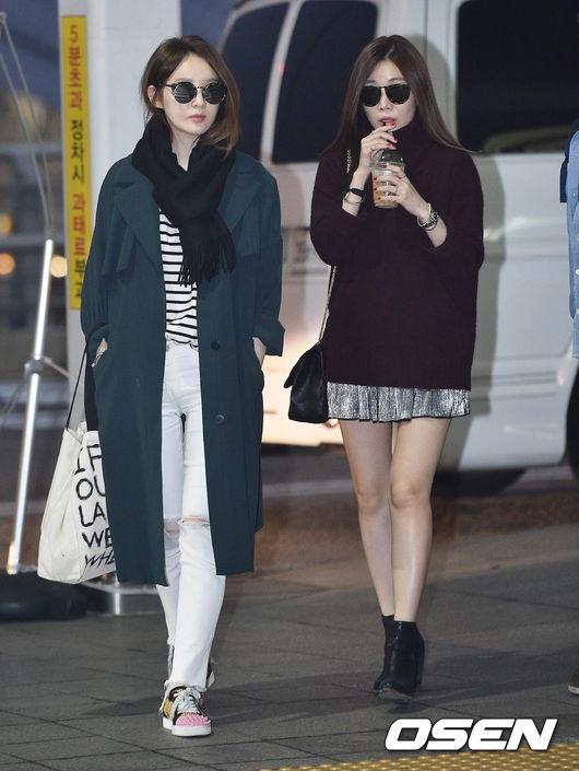 富有女人味的Davichi李海莉&姜珉耿