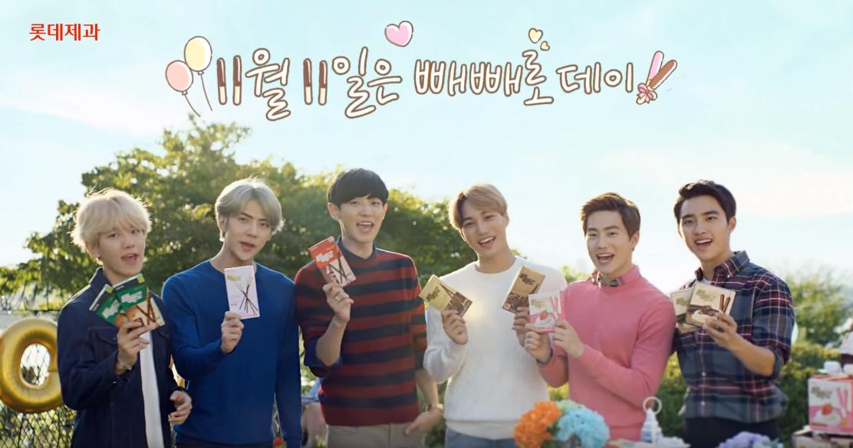 因為 1111 很像是巧克力棒的形狀,所以久而久之「pepero day」就誕生了,算是韓國情侶很重要的節日之一,雖然他們幾乎每天都是情人節啦XD